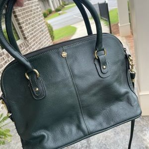 John Romain vintage Dark green leather purse